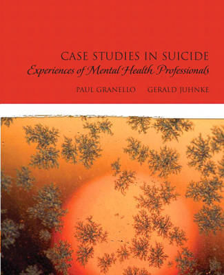 Case Studies in Suicide: Experiences of Mental Heath Professionals (Paperback)