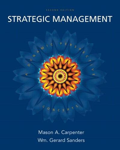 Strategic Management: Concepts (Paperback)