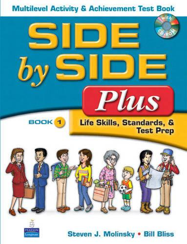 Side by Side Plus Multilevel Activity & Achievement Test Book wCD-ROM 1 (Paperback)