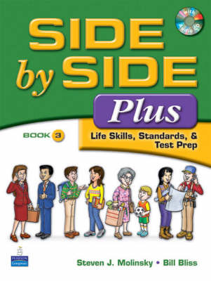 Side by Side Plus 3 - Life Skills, Standards & Test Prep (Paperback)