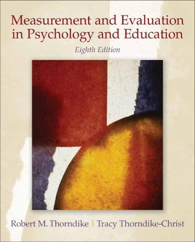 Measurement and Evaluation in Psychology and Education (Hardback)
