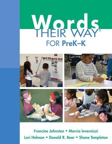 Words Their Way for PreK-K (Paperback)