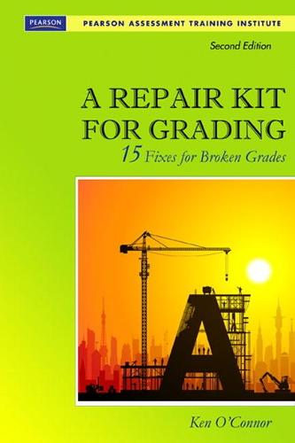 A Repair Kit for Grading: Fifteen Fixes for Broken Grades with DVD (Paperback)