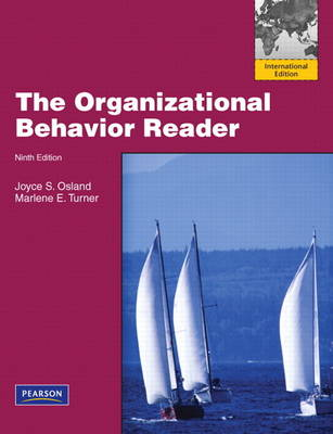 The Organizational Behavior Reader: International Edition (Paperback)