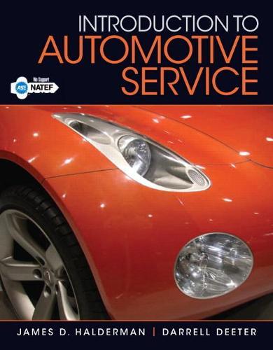 Introduction to Automotive Service (Paperback)