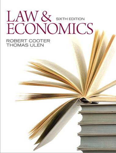 Law and Economics (Hardback)