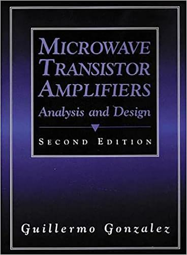 Microwave Transistor Amplifiers: Analysis and Design (Hardback)