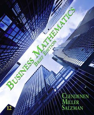 Business Mathematics Brief (Paperback)