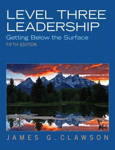 Level Three Leadership: Getting Below the Surface (Paperback)