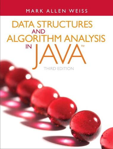 Data Structures and Algorithm Analysis in Java (Paperback)