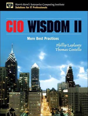 CIO Wisdom II: More Best Practices (Paperback)
