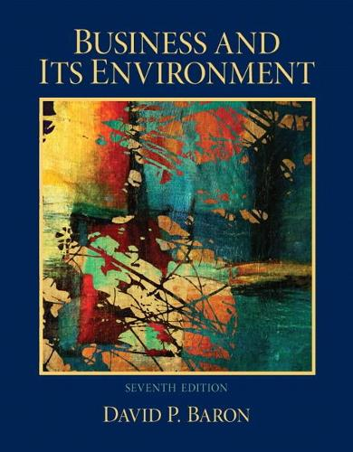 Business and Its Environment: United States Edition (Hardback)