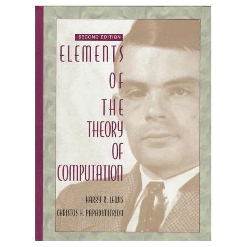 Elements of the Theory of Computation: United States Edition (Hardback)