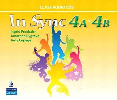 In Sync 4 Class AudioCDs A & B (CD-ROM)