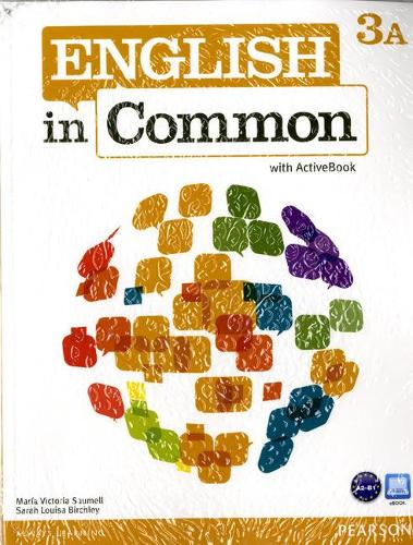 English in Common 3A Split: Student Book with ActiveBook and Workbook and MyLab English