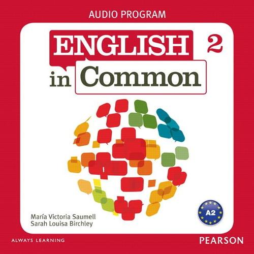 English in Common 2 Audio Program (CDs) (CD-Audio)