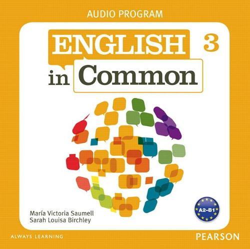 English in Common 3 Audio Program (CDs) (CD-Audio)