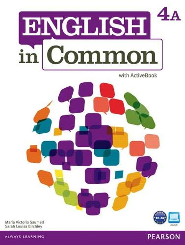 English in Common 4A Split: Student Book with ActiveBook and Workbook