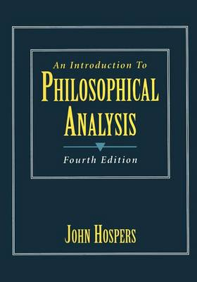 An Introduction to Philosophical Analysis (Paperback)