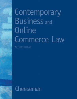 Contemporary Business and Online Commerce Law (Hardback)