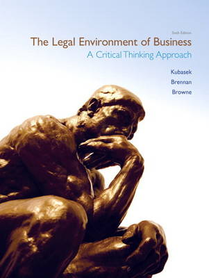 The Legal Environment of Business (Hardback)