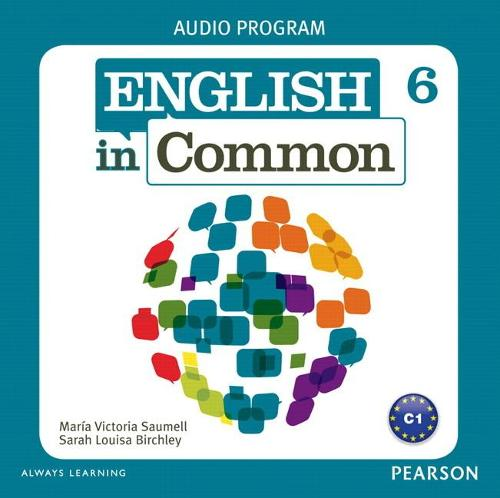 English in Common 6 Audio Program (CDs) (CD-Audio)