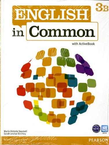 English in Common 3B Split: Student Book with ActiveBook and Workbook and MyLab English