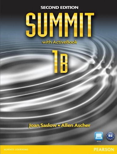 Summit 1B Split: Student Book with ActiveBook and Workbook (Paperback)