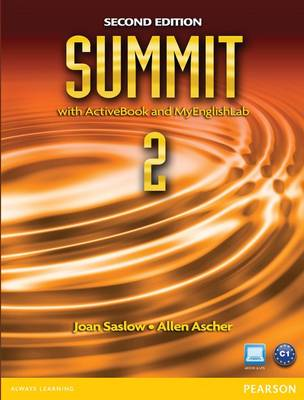 Summit 2 with Active Book & MyEnglishLab (Paperback)
