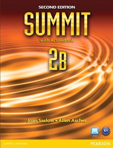 Summit 2B Split: Student Book with ActiveBook and Workbook (Paperback)