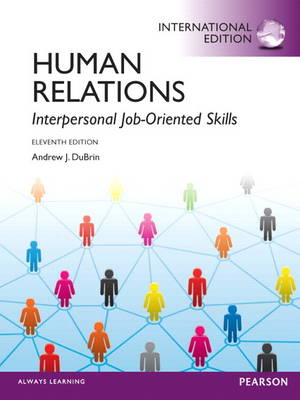 Human Relations: Interpersonal Job-oriented Skills (Paperback)