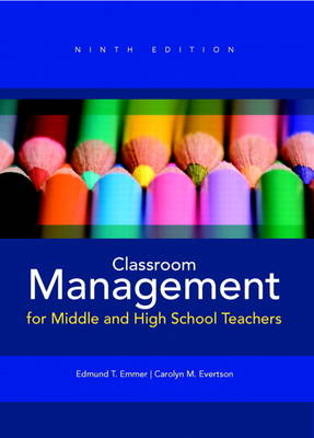 Classroom Management for Middle and High School Teachers (Paperback)