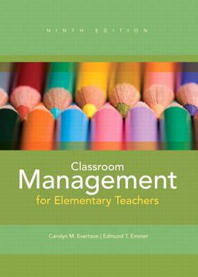 Classroom Management for Elementary Teachers (Paperback)