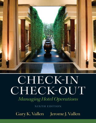Check-in Check-Out: Managing Hotel Operations (Hardback)