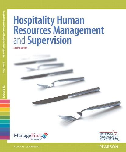 ManageFirst: Human Resources and Supervision with Online Test Voucher (Paperback)