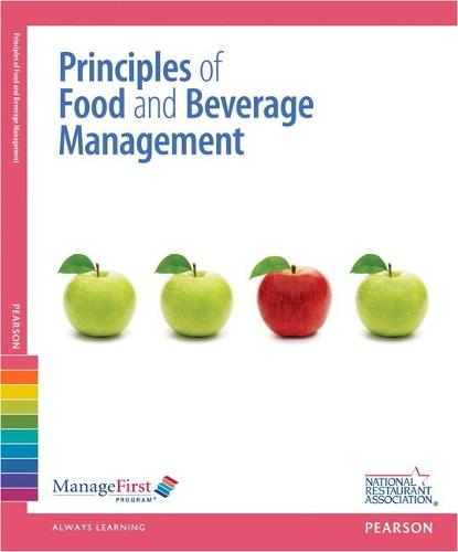ManageFirst: Principles of Food and Beverage Management with Answer Sheet (Paperback)