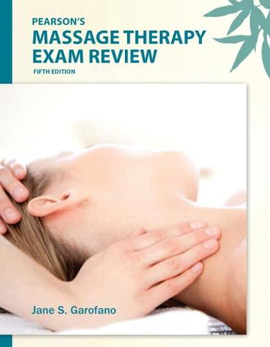 Pearson's Massage Therapy Exam Review (Paperback)
