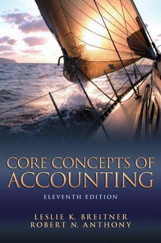 Core Concepts of Accounting (Paperback)