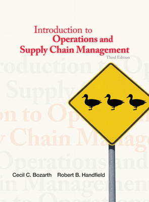 Introduction to Operations and Supply Chain Management (Hardback)