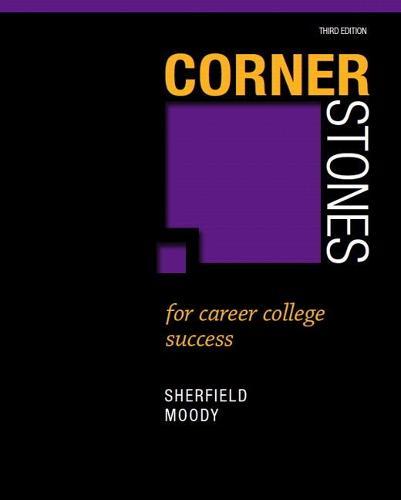 Cornerstones for Career College Success (Paperback)