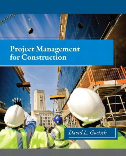 Project Management for Construction (Hardback)