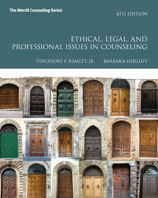 Ethical, Legal, and Professional Issues in Counseling (Paperback)