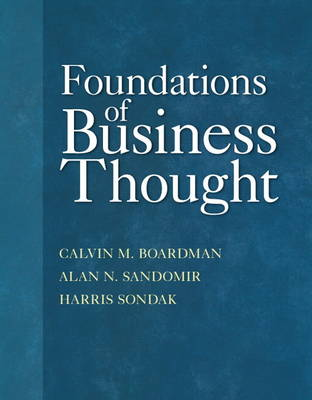 Foundations of Business Thought (Paperback)