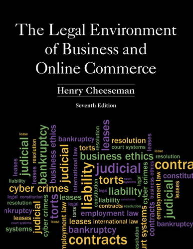 The Legal Environment of Business and Online Commerce (Hardback)