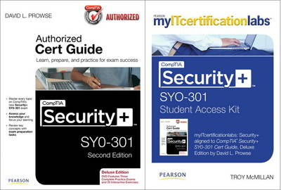 CompTIA Security+ SY0-301 Cert Guide with MyITCertificationLab Bundle