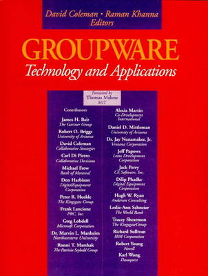 Groupware: Technology and Applications (Paperback)
