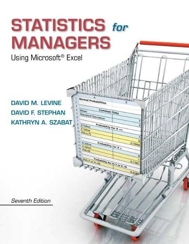 Statistics for Managers Using Microsoft Excel (Hardback)