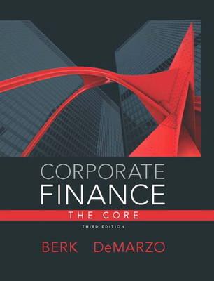 Corporate Finance, The Core (Hardback)