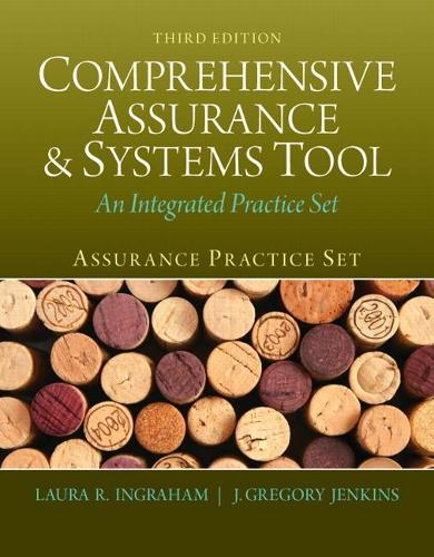 Assurance Practice Set for Comprehensive Assurance & Systems Tool (CAST) (Paperback)