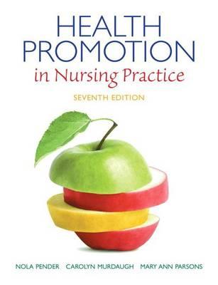 Health Promotion in Nursing Practice (Hardback)